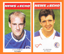 Rochdale Jimmy Graham Stockport County Jim Gannon